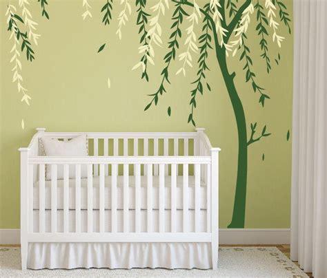 Baby Boy Nursery Wall Decor Ideas Baby Boy Nursery Ideas Stick On Wall Tree By Decaiisland