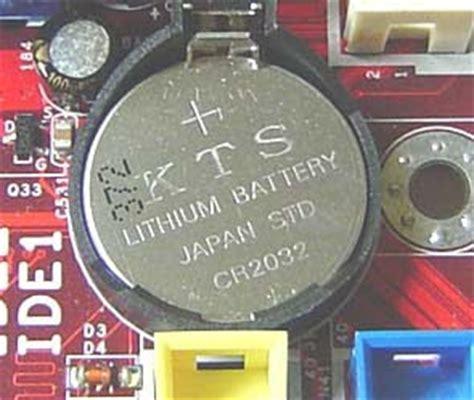 Baterai Cmos Komputer teknik komputer jaringan pesan error cmos