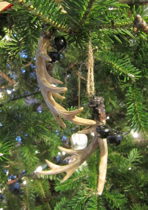 deer antler ornaments glimmer strings archives the honeycomb home