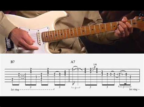 pride  joy stevie ray vaughan guitar lesson youtube