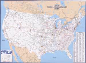 railroad map united states deskmap systems printed railroad maps geographical