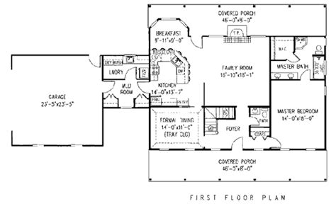 cape cod house plans open floor plan house plan 96814 at familyhomeplans com