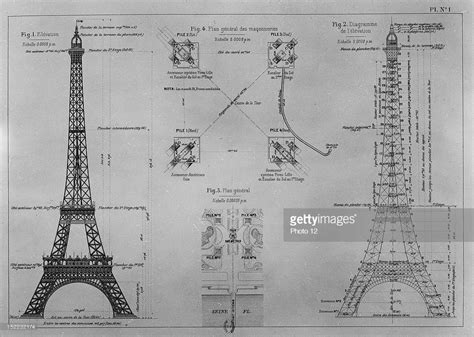 eiffel tower floor plan gustave eiffel getty images