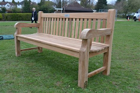 teak benches for gardens teak garden bench chunky
