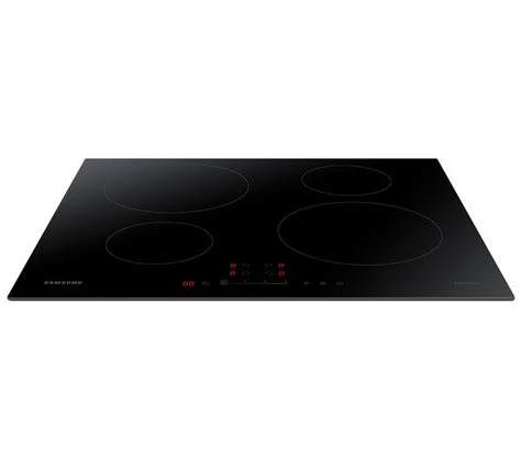 samsung nz64h37070k electric induction hob buy samsung nz64h37070k electric induction hob black free delivery currys