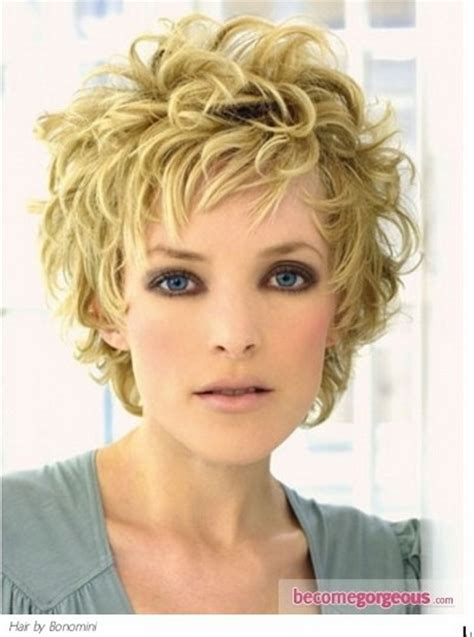 hairstyles for curly and messy hair short messy curly hairstyles