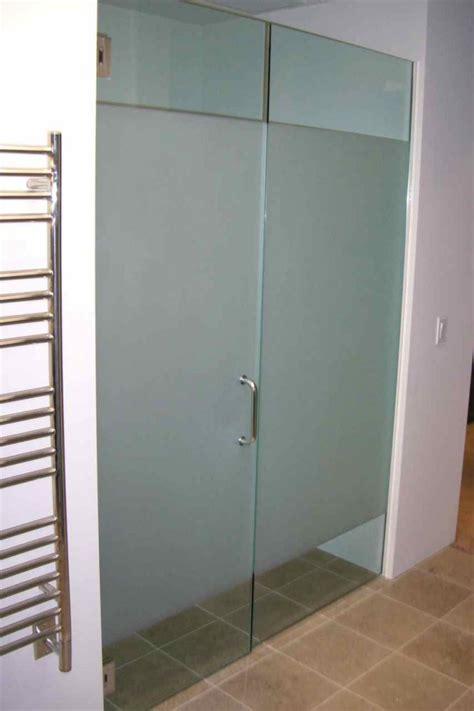 Solid Glass Doors Solid Frst Glass Shower Doors Etched Glass Modern Design