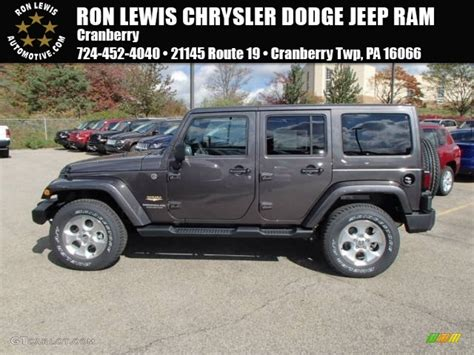 jeep granite 2014 granite metallic jeep wrangler unlimited 4x4