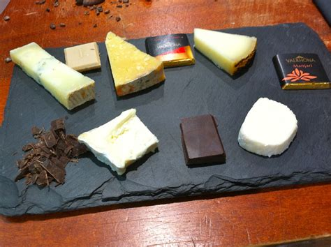Chocolatte Chesse cheese chocolate at la cave 224 fromage chocablog