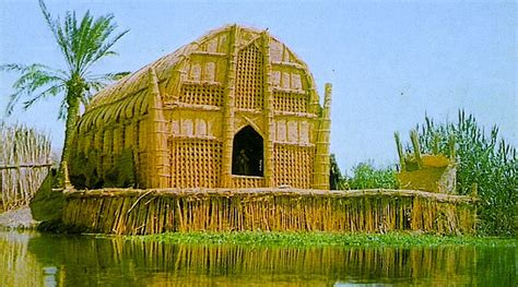 House Reed by The Floating Basket Homes Of Iraq A Paradise Almost Lost
