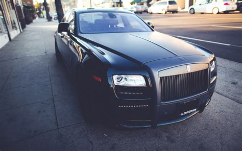 Rolls Royce Ghost Black Wallpaper