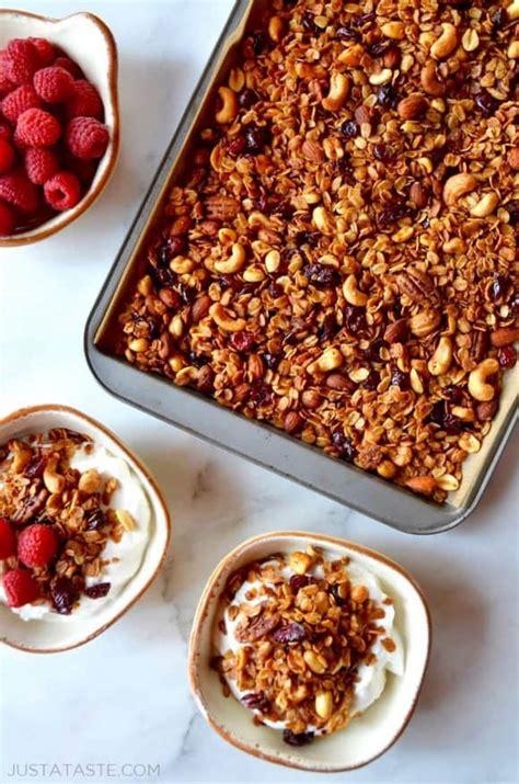 best recipe for granola easy granola just a taste