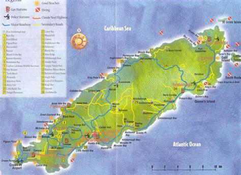 and tobago map large scale map tobago island villa easytimes tobago