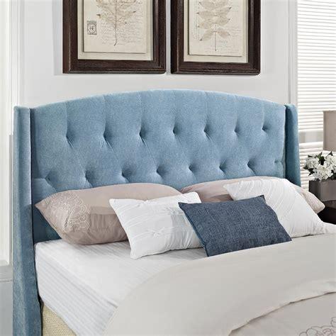 blue velvet headboard queen dorel home furnishings taylor blue plush velvet full queen