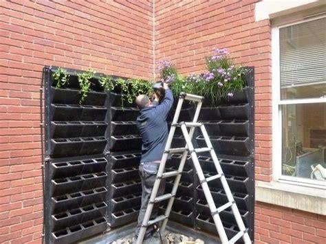 creative living wall planter ideas design