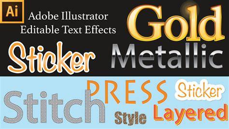 pattern font illustrator design editable text effect in illustrator avaxhome