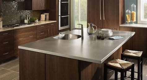 Residential Stainless Steel Countertops by Customized Kitchen Bathroom Solutions Frigo Design
