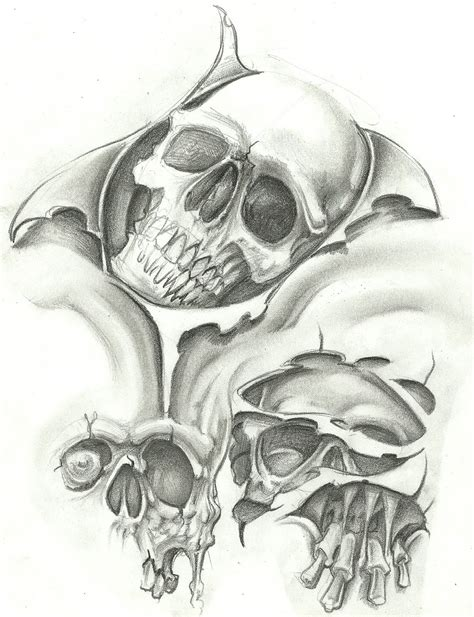 tattoo flash of skulls evil tattoo flash art tattoo design gallery free ideas