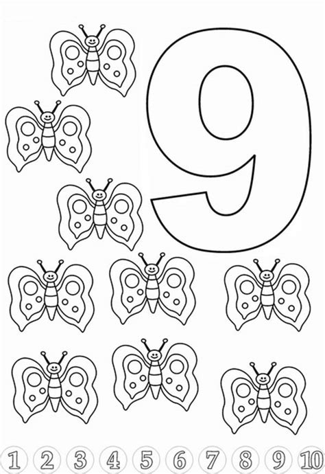 9 Coloring Page by Tech 9 Free Coloring Pages