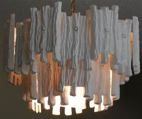 White Painted Chandelier White Painted Lucite Chandelier For Sale At 1stdibs