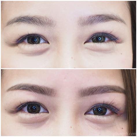 korean eyebrow tattoo erabelle getting brows with erabrowlogy yina goes