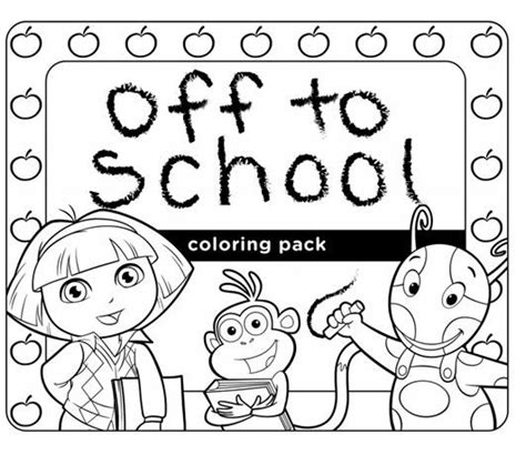 nick jr oswald coloring pages check out this off to school coloring pack featuring some