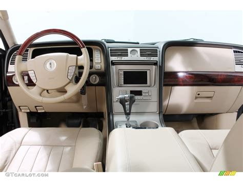 2005 Lincoln Navigator Interior by 2005 Charcoal Beige Metallic Lincoln Navigator Ultimate