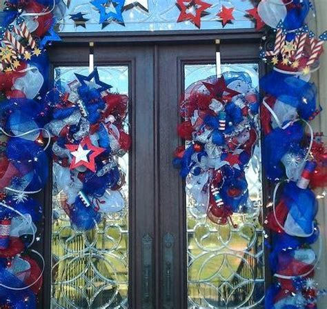 4th Of July Door Decorations by Great 4th Of July Door Decor Wreaths And Other Seasonal