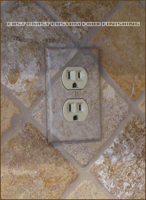 decorative outlet covers custom faux finished outlet covers by arizona