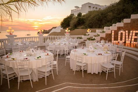 Sea View Terrace Wedding   Weddings in Ibiza   Wedding