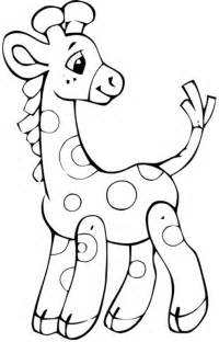 baby animal coloring pages coloring sheets baby giraffe