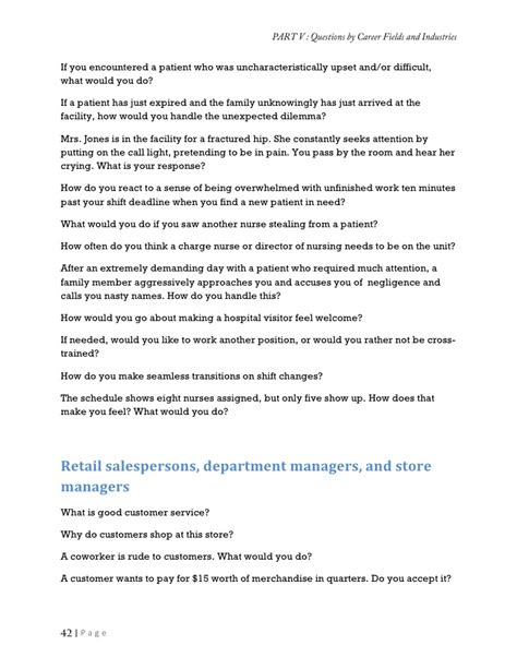 retail store questions questions and answers for managers pdf retail