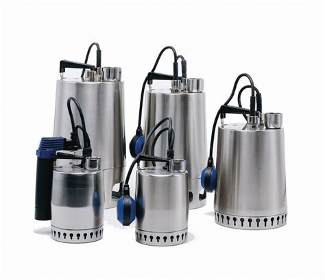 Mesin Pompa Celup Submersible Stainless Grundfos Kp 250 A Grundfos Unilift Kp250 A 1 Submersible 240 V