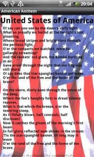 national anthem images details uk