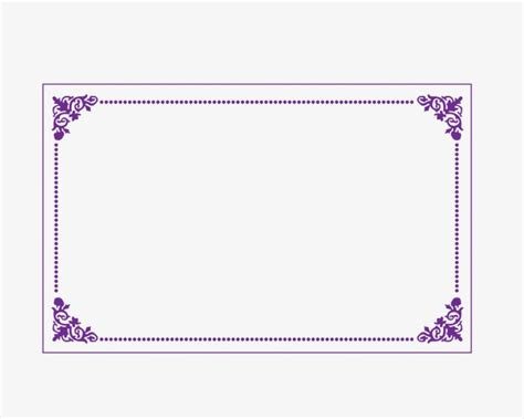 decorative border in photoshop decorative borders purple border frame box png and psd