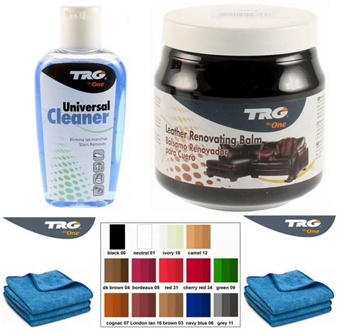 Leather Sofa Cleaning Products by Trg Grison Leather Cleaning Kit And Colour Restorer