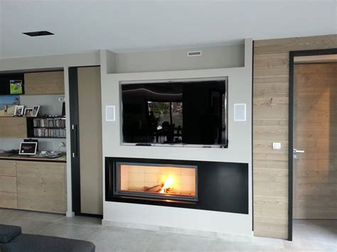 cheminee moderne design a bois cheminee bois moderne multifonctionnelle accueil design