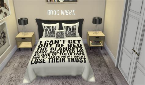 sims  ccs   santorini pillowsbed blanket recolors   littl sims  ccs
