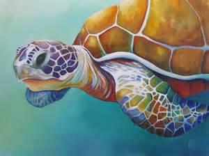 colorful turtles colorful mermaids turtles sea