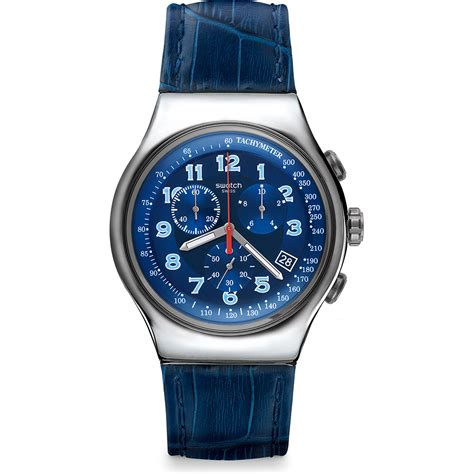 Swatch Irony orologio swatch irony yos449 blue turn ean