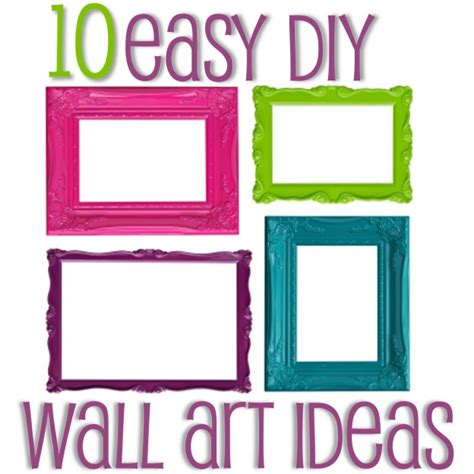 livelovediy 10 diy art ideas easy ways to decorate your walls easy diy wall art ideas home decorating ideas