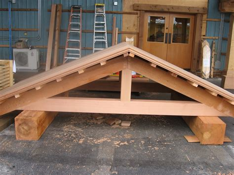 a frame roof timber framing at its best issaquah cedar lumber