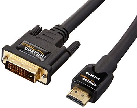 Cable Hdmi Vga Amazonbasics by Amazonbasics Hdmi Dvi Adapter Cable Cable Us252