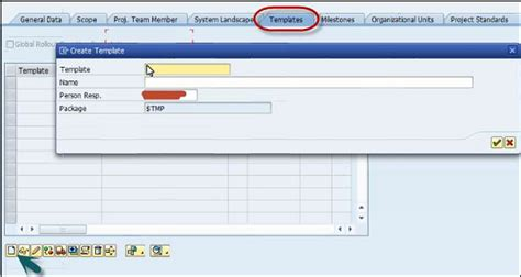sap template management sap solman template management