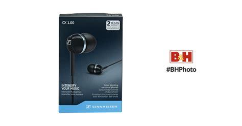 Sennheiser Cx 1 00 Black sennheiser cx 1 00 earphones black 506083 b h photo