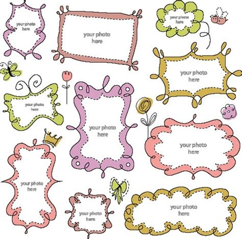 cute lace pattern vector free cartoon cute lace 01 vector free vector in encapsulated