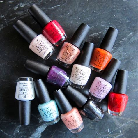 opi best sellers the top 10 opi nail colors of all time