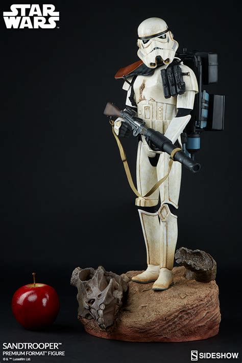 wars collectibles wars sandtrooper premium format tm figure by