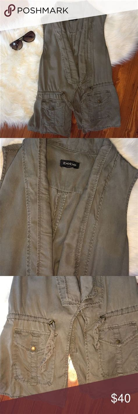 Jacket Bebe Army best 25 army green vest ideas on