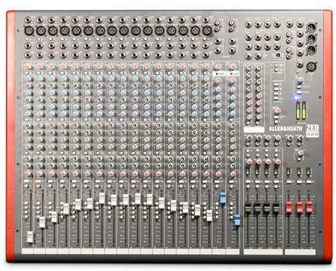 Mixer Allen Heath 8 Chanel allen heath zed 420 mixer
